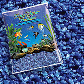 Pure Water Pebbles® Marine Blue Aquarium Gravel